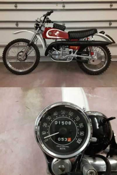 1974 Bultaco Matador Mk V Six Day Trial Special  for sale craigslist photo