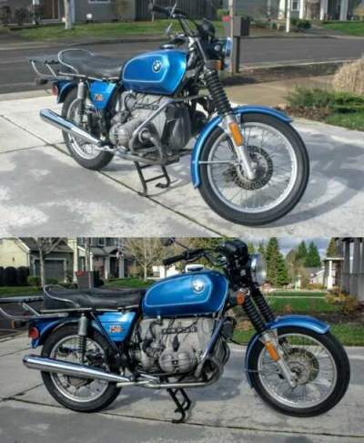 1976 BMW R-Series Blue for sale photo