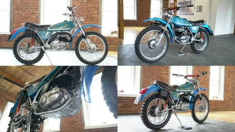1976 Bultaco Alpina 250 Blue for sale craigslist photo