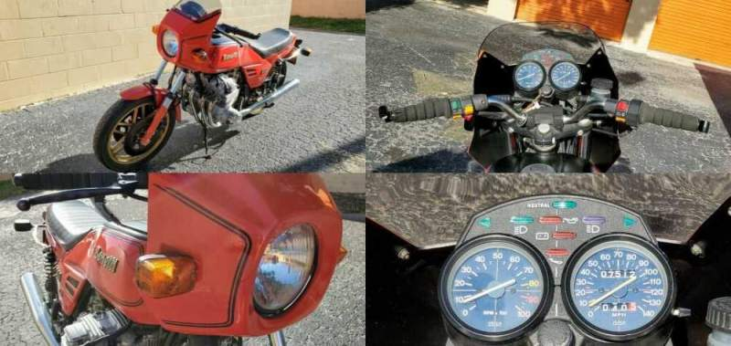 1983 Benelli 900 Sei Red for sale craigslist photo
