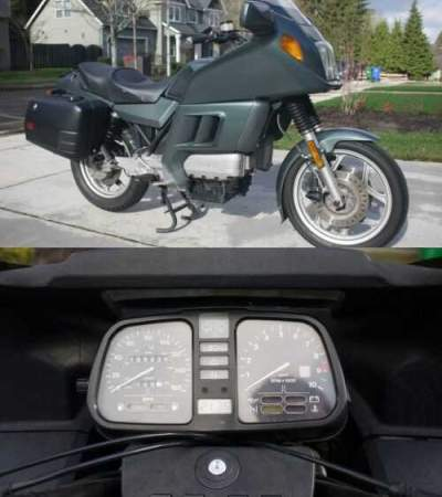 1985 BMW K-Series Gray for sale photo
