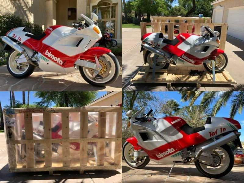 1992 Bimota TESI 1D-904 Red, White and Green for sale craigslist photo