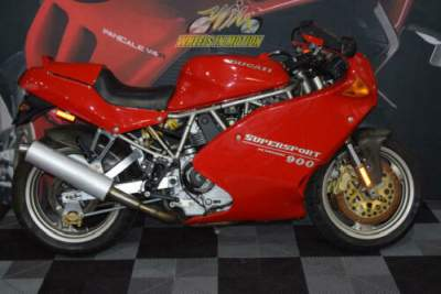 1995 Ducati Supersport RED for sale craigslist photo