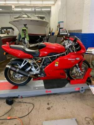 1999 Ducati 900SS Red for sale craigslist photo