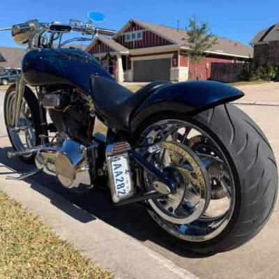 2001 Custom Built Motorcycles Chopper  for sale craigslist photo