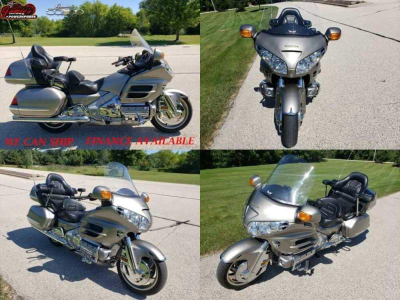 2002 Honda Gold Wing 1800 Yellow for sale craigslist photo