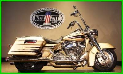2003 Harley-Davidson Touring 2003 Road-King CVO Screamin Eagle Gold Centennial Gold for sale craigslist photo