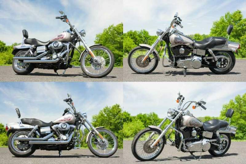 2007 Harley-Davidson Dyna Pewter Pearl for sale craigslist photo