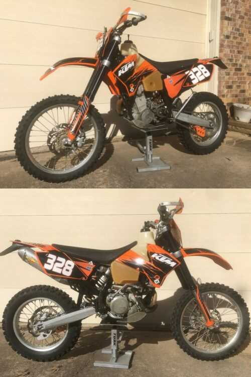 2007 KTM EXC  for sale photo