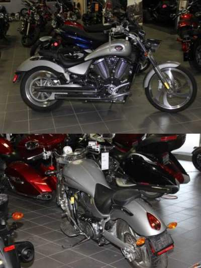 2007 Victory Vegas® Silver for sale craigslist photo