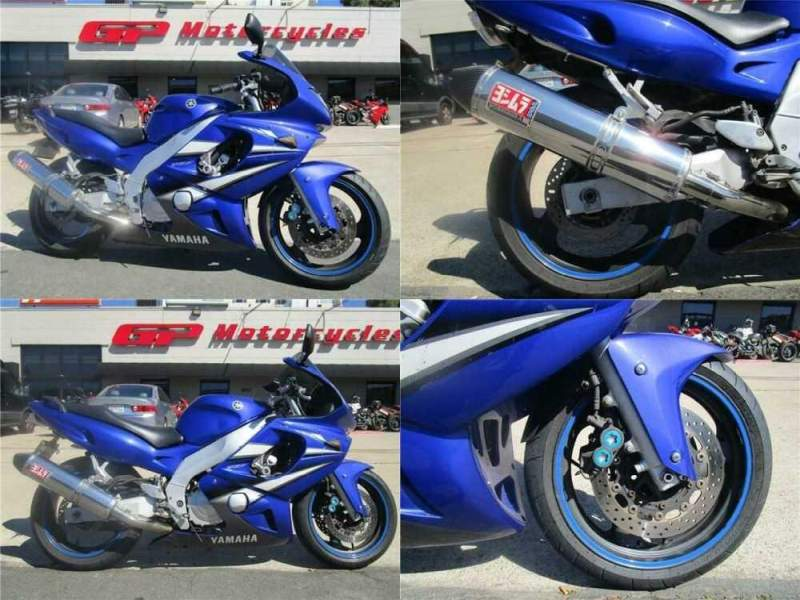 2007 Yamaha YZF 600R Blue for sale craigslist photo