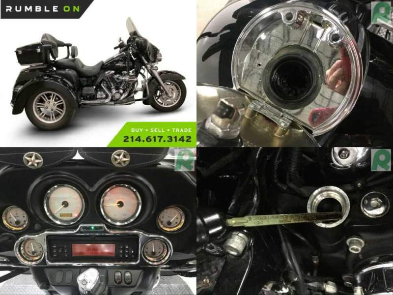 2010 Harley-Davidson Touring CALL (877) 8-RUMBLE Black for sale craigslist photo