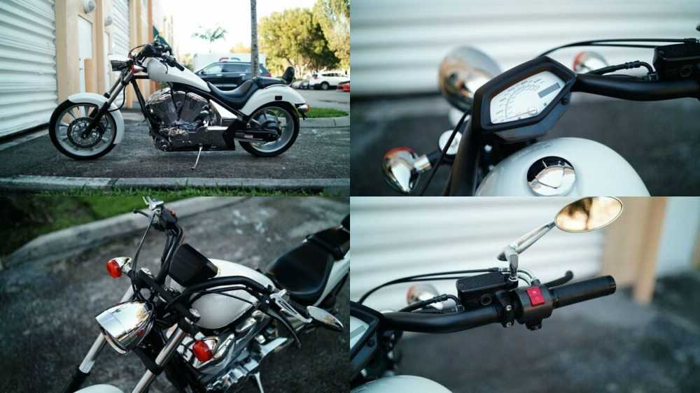 2011 Honda Fury White for sale craigslist photo