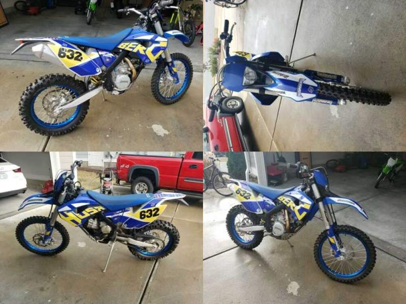 2011 Husaberg FE 450 Blue for sale craigslist photo