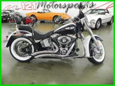 2012 Harley-Davidson Softail Deluxe FLSTN Deluxe Blue for sale craigslist photo