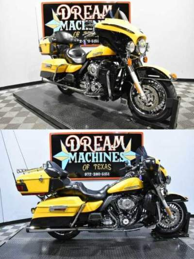 2013 Harley-Davidson FLHTK - Ultra Limited Yellow for sale photo