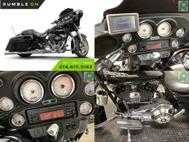 2013 Harley-Davidson Touring CALL (877) 8-RUMBLE Black for sale craigslist photo