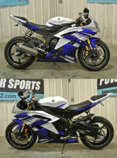2014 Yamaha YZF-R TEAM EDITION BLUE AND WHITE for sale craigslist photo