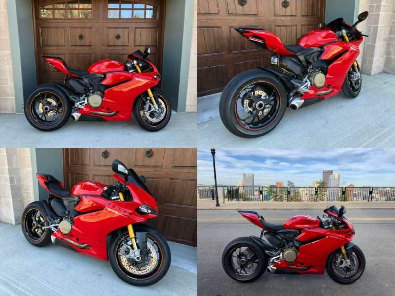 2015 Ducati Panigale Red for sale craigslist photo