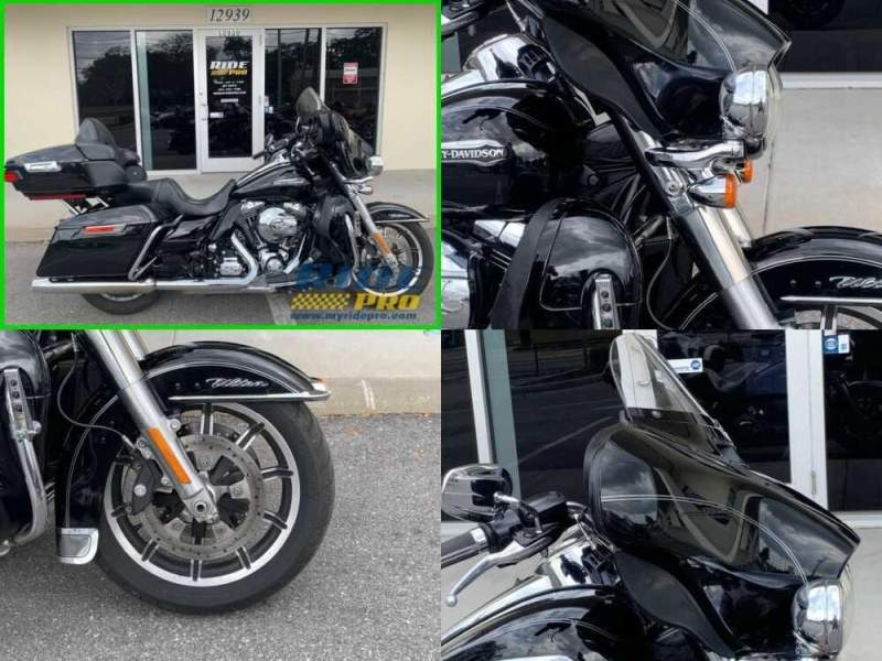 2015 Harley-Davidson Touring Electra Glide® Ultra Classic® Low Black for sale craigslist photo