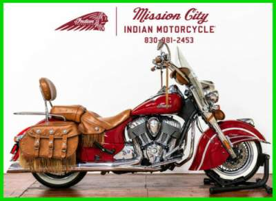 2015 Indian Chief Vintage Indian Red Indian Red for sale craigslist photo