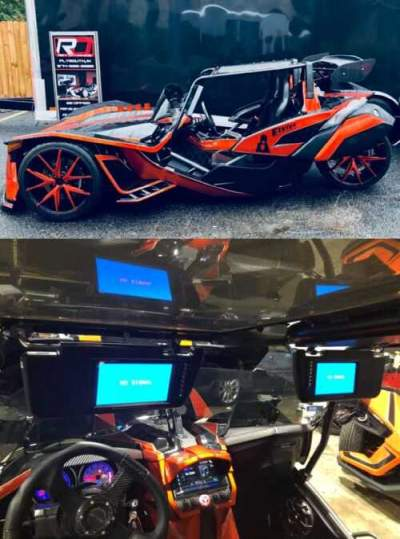 2015 Polaris Slingshot SL Black for sale craigslist photo