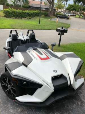 2016 Polaris Slingshot White for sale craigslist photo