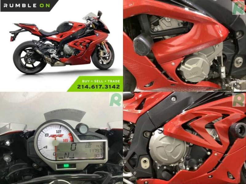 2017 BMW S1000RR CALL (877) 8-RUMBLE Red for sale craigslist photo