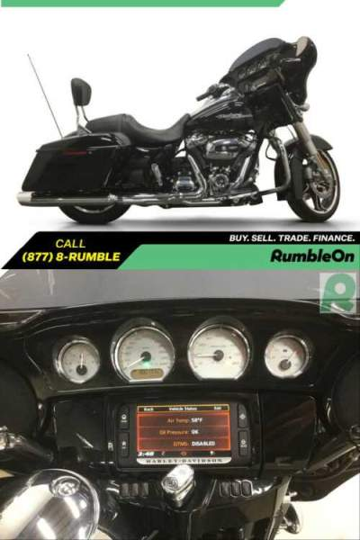 2017 Harley-Davidson Touring CALL (877) 8-RUMBLE Black for sale photo