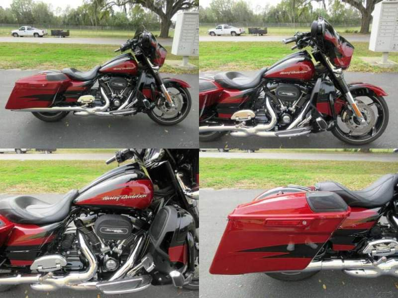 2017 Harley-Davidson Touring Street Glide® CVO™ Street Glide® Red for sale craigslist photo