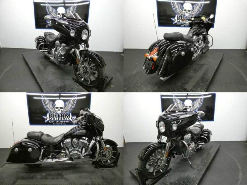 2017 Indian Chieftain Limited Thunder Black Black for sale craigslist photo