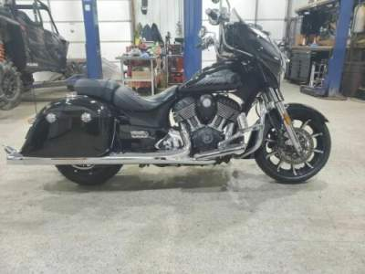 2017 Indian Chieftain® Thunder Black Pearl Black for sale craigslist photo