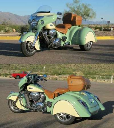 2017 Indian Roadmaster Classic Willow Green Creme for sale photo