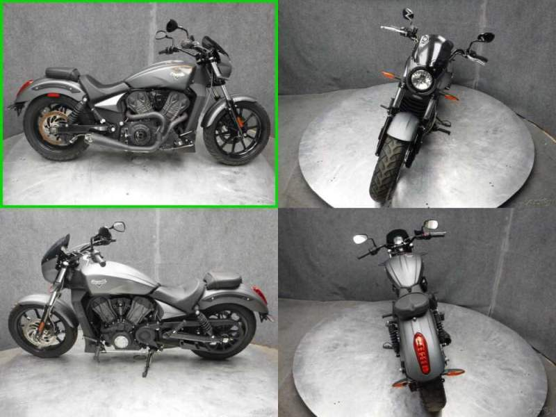 2017 Victory Octane Gray for sale craigslist photo