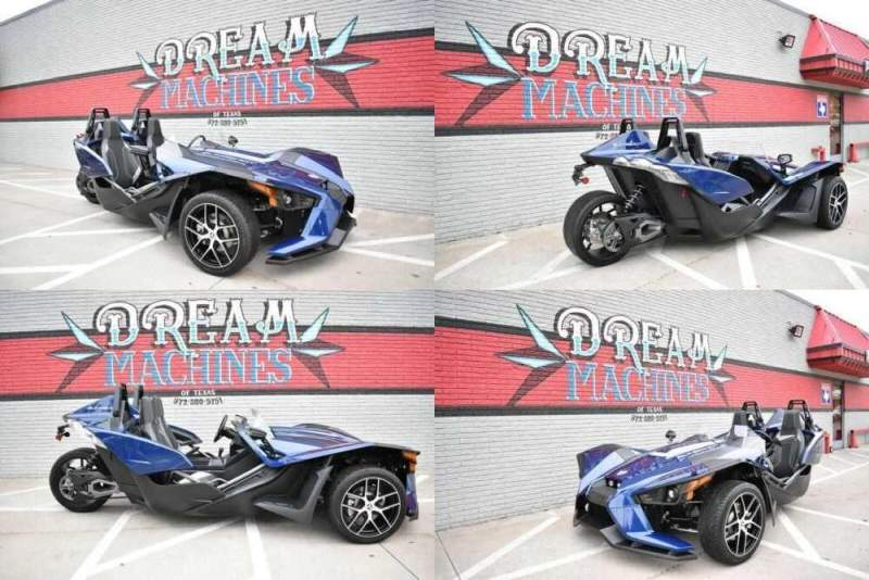 2018 Polaris Slingshot SL Blue for sale craigslist photo