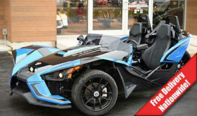 2018 Polaris Slingshot SLR Electric Blue Blue for sale craigslist photo
