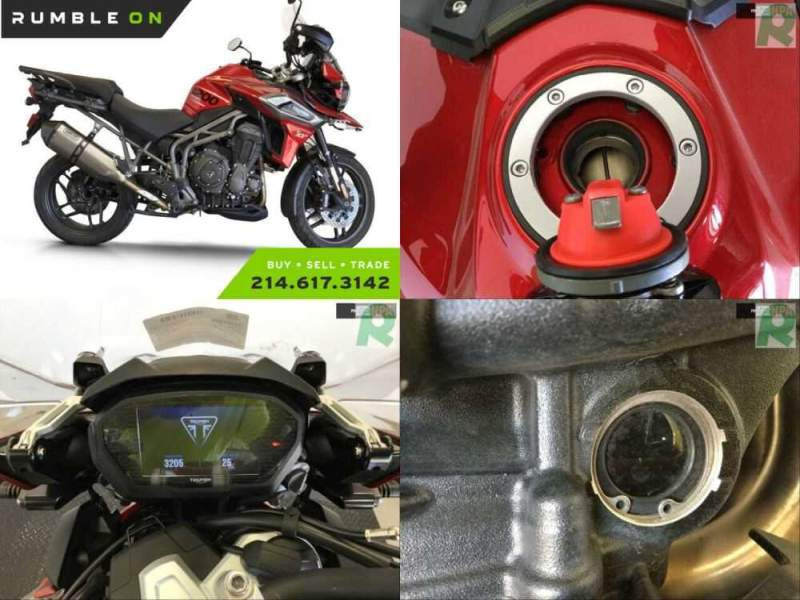 2018 Triumph Tiger CALL (877) 8-RUMBLE Red for sale craigslist photo