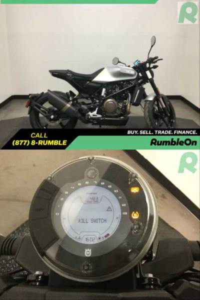 2019 Husqvarna VITPILEN 701 CALL (877) 8-RUMBLE Silver for sale photo