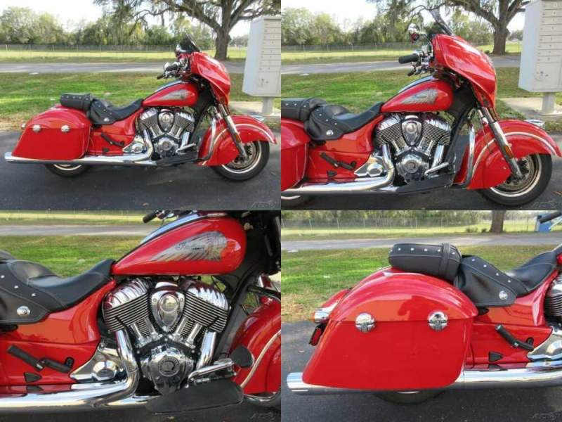 2019 Indian Chieftain Classic Red for sale craigslist photo