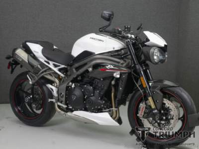 2019 Triumph Speed Triple Rs CRYSTAL WHITE for sale photo