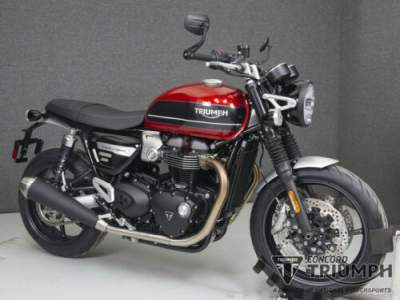 2019 Triumph Speed Twin KOROSI RED/STORM GREY for sale photo