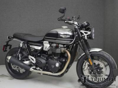 2019 Triumph Speed Twin SILVER ICE/STORM GREY for sale photo