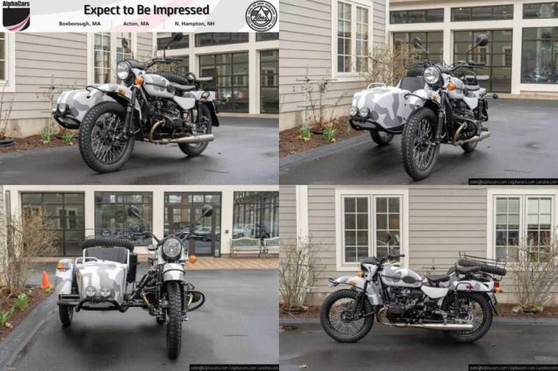 2019 Ural Gear Up Urban Camouflage Urban Camouflage for sale craigslist photo