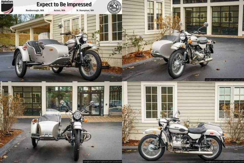 2020 Ural Limited Edition FRWL Silver for sale craigslist photo