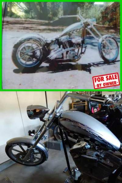 2002 Other Makes Custom Chopper Silver with White and Black Detailing for sale craigslist photo