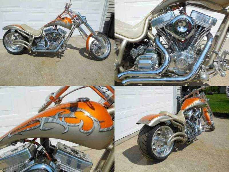 2004 Bourget FATDADDY Champaign / Tangerine for sale craigslist photo