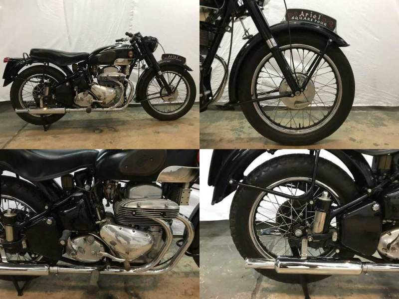1955 Vincent Ariel square four  used for sale craigslist