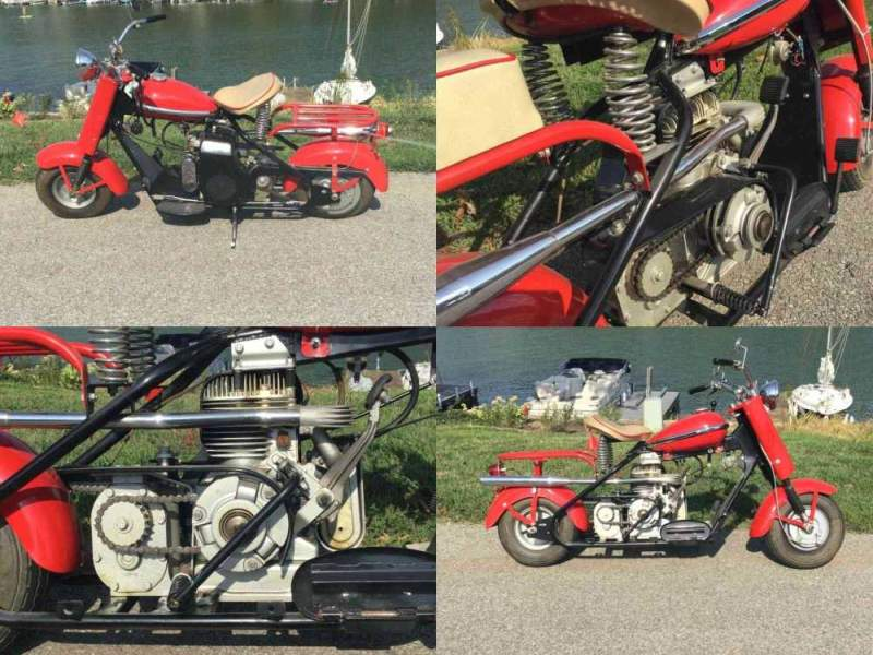 1957 Cushman Eagle Red used for sale