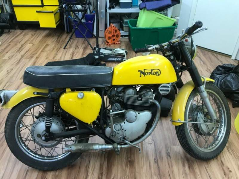 1963 Norton ELECTRA Yellow used for sale craigslist