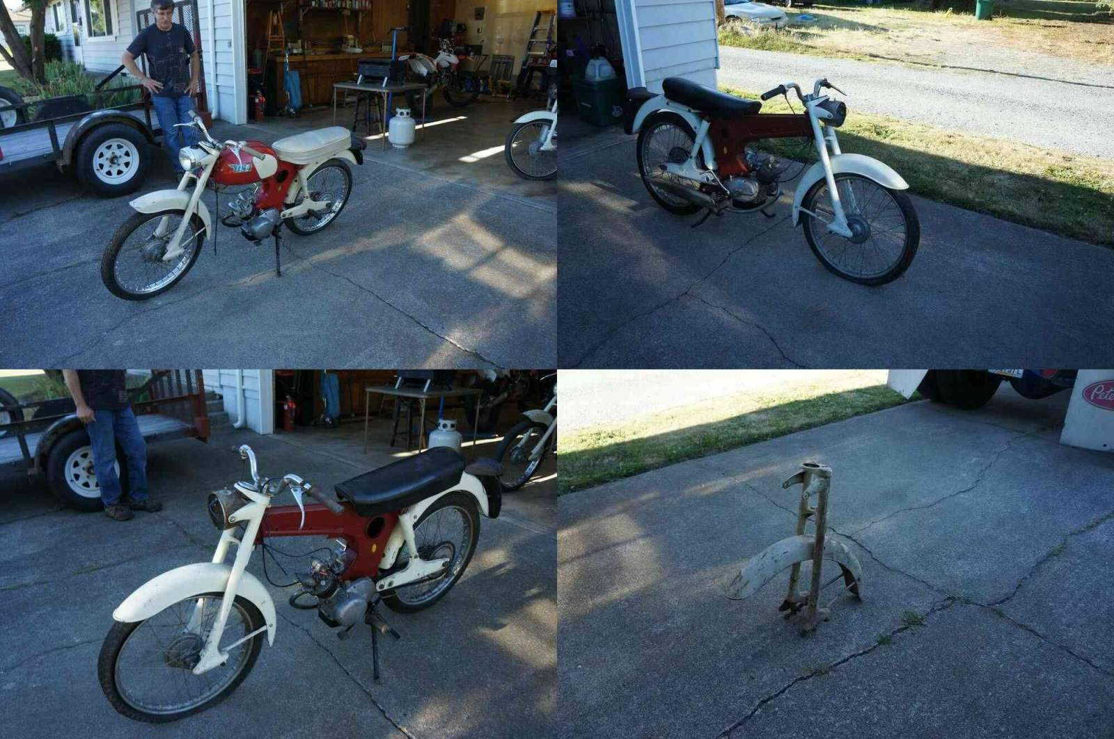 1964 BSA Beagle/Starlite red and white used for sale craigslist